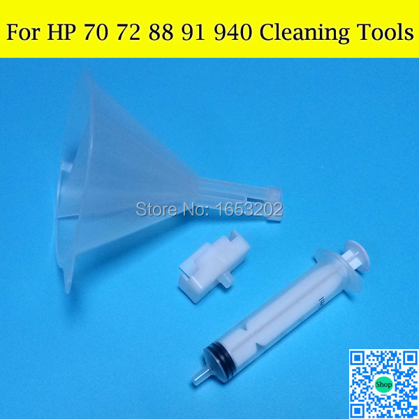 1 Set Printhead Cleaner Tools Kit V2 For HP 88 940 70 72 Nozzle Print Head For HP Officjet K550 5400 7580 7680 K7780