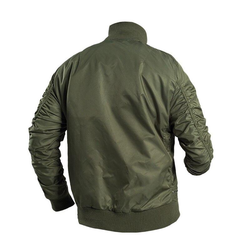 Mege marka mężczyźni taktyczne odzież militarna modna kurtka Bomber armia Parka na zewnątrz wiatroszczelna Multipockets Airsoft bojowe znosić w Kurtki od Odzież męska na  Grupa 2