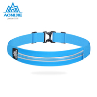 AONIJIE Outdoor Waist bag   Running   mobile phone Package bag Multi Function burglar theft and invisible small belt bag women