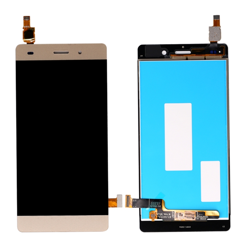 HTB1FTtcJ21TBuNjy0Fjq6yjyXXaX For Huawei Ascend P8 Lite ALE-L04 L21 TL00 L23 CL00 L02 UL00 LCD Display Touch Screen Digitizer Assembly Replacement With Frame