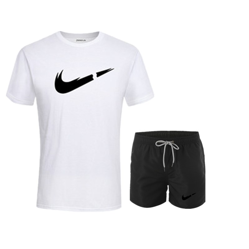 HTB1FTtzUgHqK1RjSZFkq6x.WFXae 2019 New Men Fashion Two Pieces Sets T Shirts+Shorts Suit Men Summer Tops Tees Fashion Tshirt High Quality men clothing