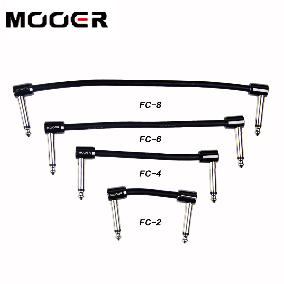 Mooer FC series Guitar Effects pedal cable patch cable  guitar accessories mooer ensemble queen bass chorus effects pedal