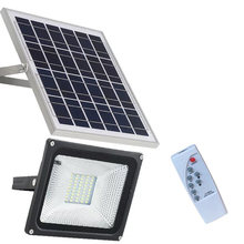 10W20W30W50W outdoor solar street light flood light outdoor lighting bright waterproof large solar panel remote wall lamp