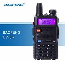 Оригинал Baofeng UV-5R портативной рации удобно трансивер УКВ Двухдиапазонный портативный радиолюбителей UV5R рации для охоты