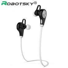 Robotsky Q9 Wireless Bluetooth V4.1 Auriculares estéreo Deportes Auricular Bluetooth con micrófono