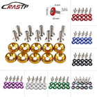 10 Pcs/Pack JDM Style Aluminum Fender Washers and Bolt for Honda Civic Integra RSX EK EG DC RS-QRF002