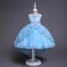 Carters Limited Roupas Infantis Menina Moana Kids Dresses For Girls Childrens Princess Lace Dress Flower Clothes