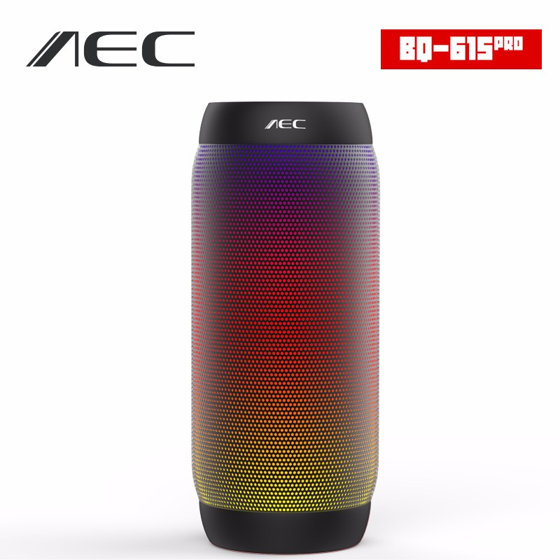 HOT AEC colorful Waterproof Bluetooth Speaker Wireless NFC Super Bass Subwoofer Outdoor Sport Sound Box FM Portable Speaker