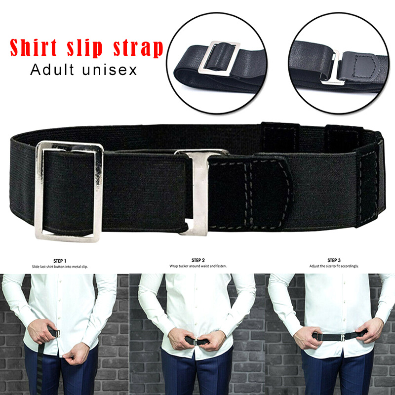 Shirt Holder Adjustable Near Shirt Stay Best Tuck It Belt For Women Men Work Interview TY53(China)