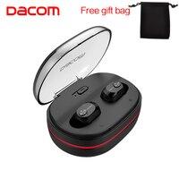 DACOM K6H True Wireless Earbuds Mini TWS Mic Bluetooth Earphone Headset Super Stereo In Ear With