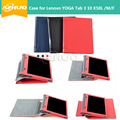 Ultra Slim Leather Case for YOGA Tab 3 X50 for Lenovo YOGA Tab 3 X50L X50M Tablet PC case cover + free gift
