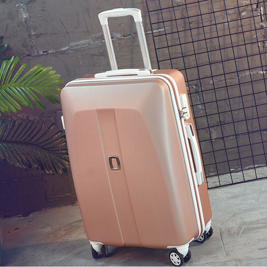 New Arrival!26inches abs hardside case travel luggage bag on universal wheels,men/women trolley luggage,green luggage