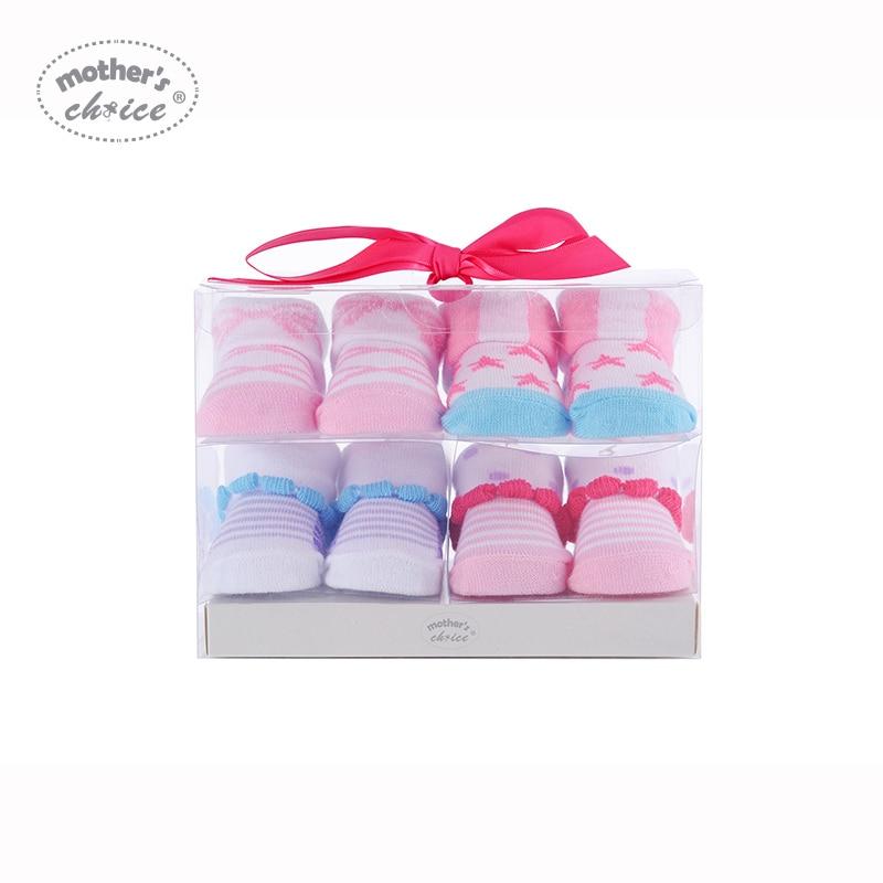 Mother's Choice 4 paren baby sokken katoen Baby zachte jongens - Babykleding - Foto 4
