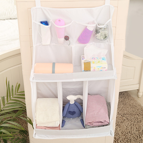Hot Sale Newborn Crib Diapers Organizer Baby Bed Hanging Bag Infant Toy Portable Storage Bedding Accessories