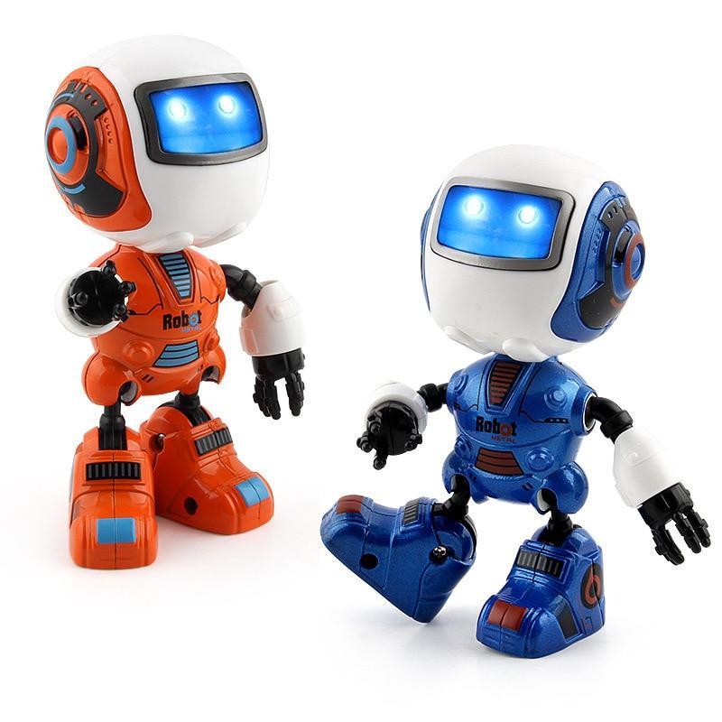 Robot USB Charging Dancing Gesture Action Figure Toy Robot ...