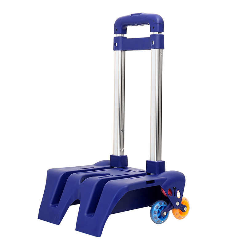 Kid Trolley For school Backpack And School Bag Luggage For Children 6 Wheels Expandable Rod High Function Trolly