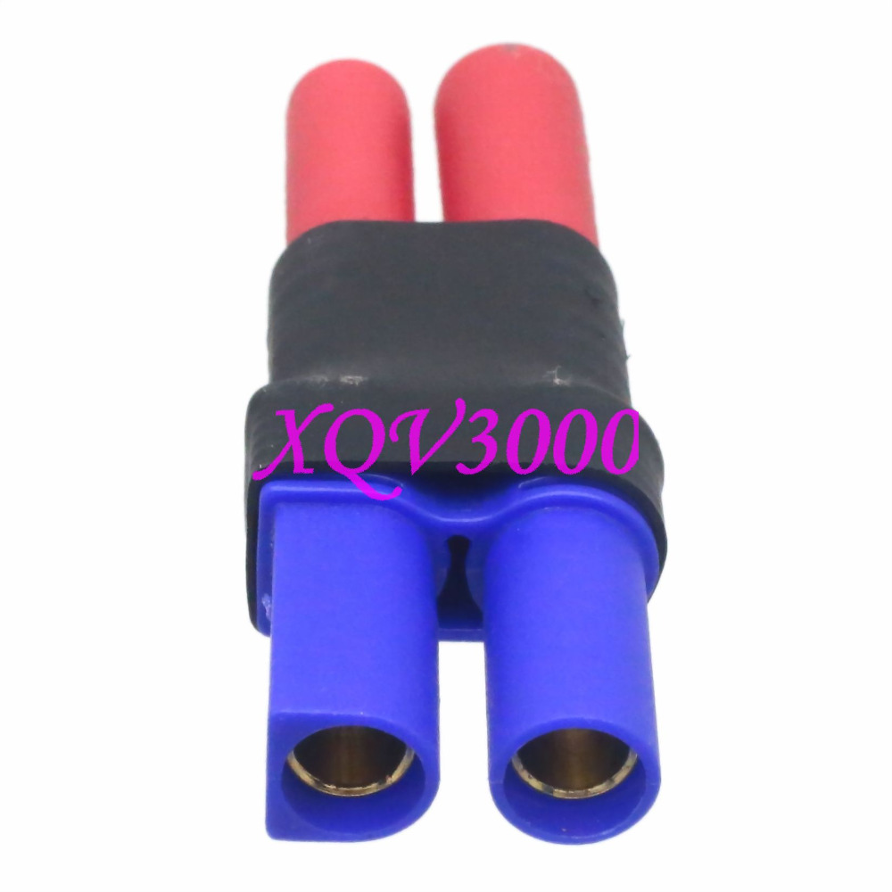 No Wires EC5 Female to HXT 4MM Male w// Housing Adapter for Turnigy Gens Ace