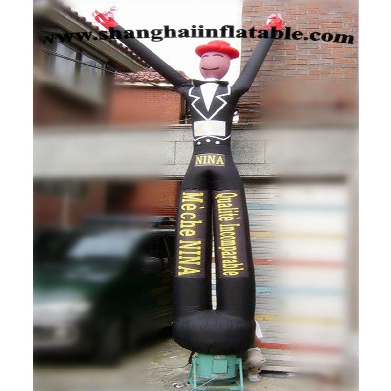 Danseur gonflable de ciel d'homme de vent gonflable à vendre