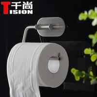 TISION Bathroom Toilet toalete paper holder viscose adhesive hook Towel Ring Hanger hanging Loop Organizer Door Hook wall hooks