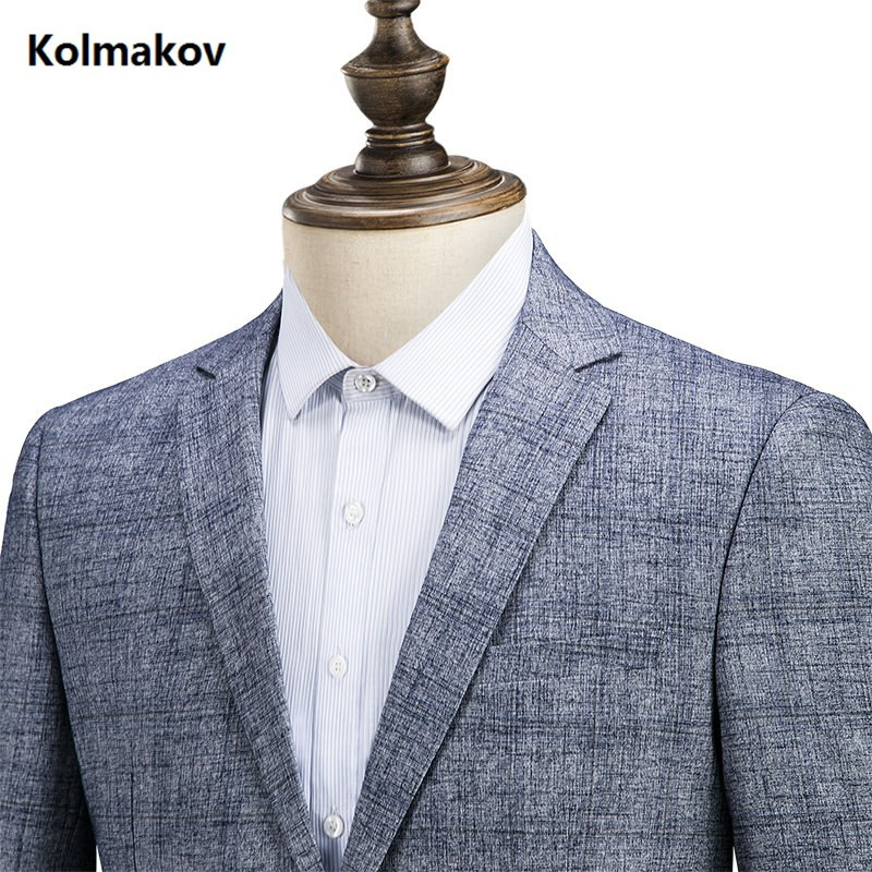 Slim Pour 4xl Fit Taille Bleu Blazers Classique Automne De Hommes 2019 Manteaux M Décontracté Veste Printemps D'affaires Blazer Costumes Homme Nouveau Style Mode MVpUqzS