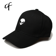 2017 Snapback Letter Believe Aliens Saucer Space E.T UFO Bone Dad Baseball Cap Hip Hop Hats Female Caps For Women Men Caps