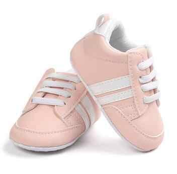 Romirus Mode Baby Mocassins Pu Leer Peuter Eerste Walker Zachte Zolen Baby Meisjes Schoenen Pasgeboren Jongens Sneakers Voor 0- 18M