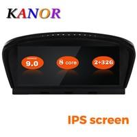 KANOR 8,8 дюймов ID7 2G + 32G Android 9,0 автомобильный мультимедийный плеер gps навигация для bmw e60 e61 e62 e63 e90 e91 e92 ccc cic система