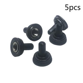 5 sztuk partia M6 przełącz wodoodporna pokrywa złącza wodoodporne gumowy rękaw dostosowania MTS 102 103 202 203 czapka tanie i dobre opinie Rubber waterproof cap 250 V -25~+85