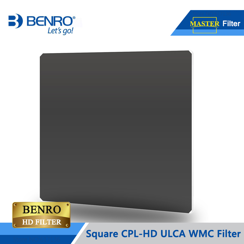 BENRO Square CPL Filter Master CPL HD ULCA WMC For 100 150 170mm Square Filter Holder