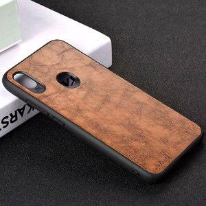 Image 3 - กรณีสำหรับ Xiaomi Redmi หมายเหตุหมายเหตุ 5 6 6A 7 Pro S2 funda Luxury VINTAGE หนังโทรศัพท์กรณี TPU + PC capa coque