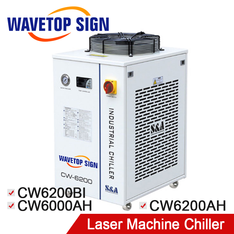 Refrigeratore Refrigeratore CW6200 CW-6200AG CW-6200BI CW-6000 Industrial Water Chiller CW 6200 uso per Laser Mark Macchina