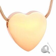 Laconic Heart Memorial Necklace