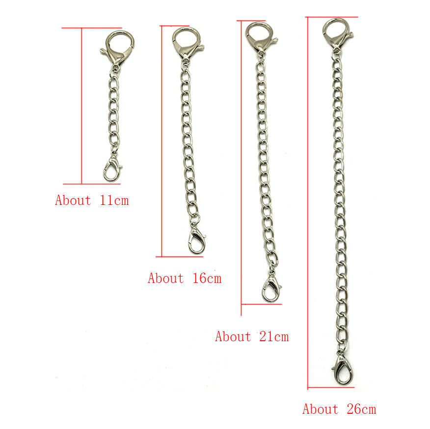 Fashion Metal Wallet Belt Chain Punk Trousers Hipster Pant Jean Keychain Silver Ring Clip Keyring Men Jewelry