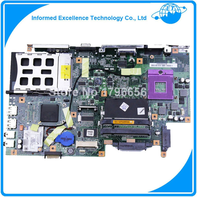 Para asus laptop motherboard x51l rev: 2.1 mainboard 08g2005xb21q obras totalmente testado bem