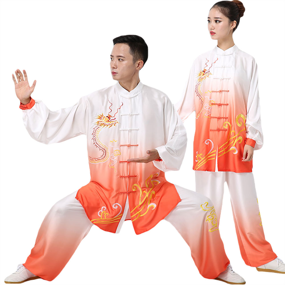 Qi Gong Martial Arts Wing Chun Shaolin Kung Fu Taekwondo Training Cloths Apparel Clothing For Seniors Beginners Men Women