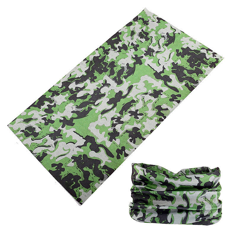 Buffe Running Bandana Men Outdoor Sports Quick Dry Cycling Headband Seamless Bandana Camouflage Headscarf Neck Gaiter Hijab