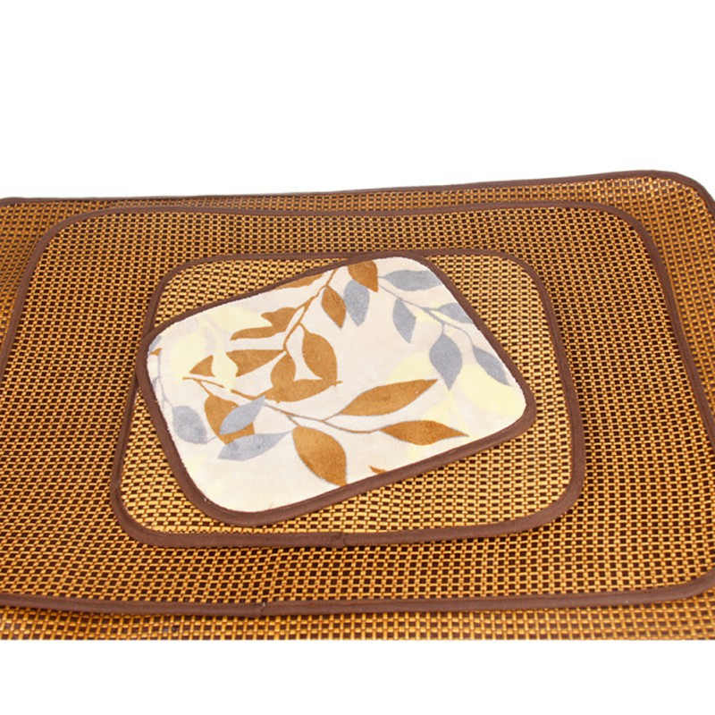 Summer Self Cooling Pet Mat Pad for Kennels Crates and Beds Bamboo Ice Mat for Keeping Cooler Dogs Sleeping Tools