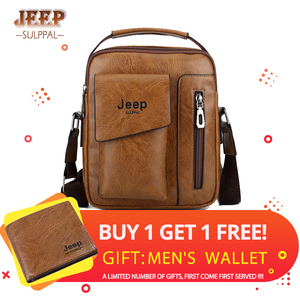 JEEP Sulppai Men's Leather Vin
