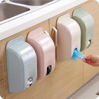 Home Creative 4 Color Garbage Bags Storage Rack Storage Box Kitchen Bedroom Bathroom Garbage Bags Storage