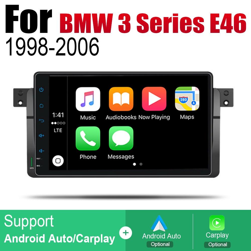 מערכת ניווט GPS אנדרואיד רכב DVD GPS Navi עבור BMW 3 Series E46 1998 ~ 2006 שחקן ניווט WiFi מערכת Bluetooth Mulitmedia stere אודיו (4)