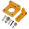 Acessórios de Impressão 3D MK8 Extrusora Bloco De Alumínio Kit DIY Profissional Único Bloco de Bocal Da Cabeça de Extrusão Para Reprapi3