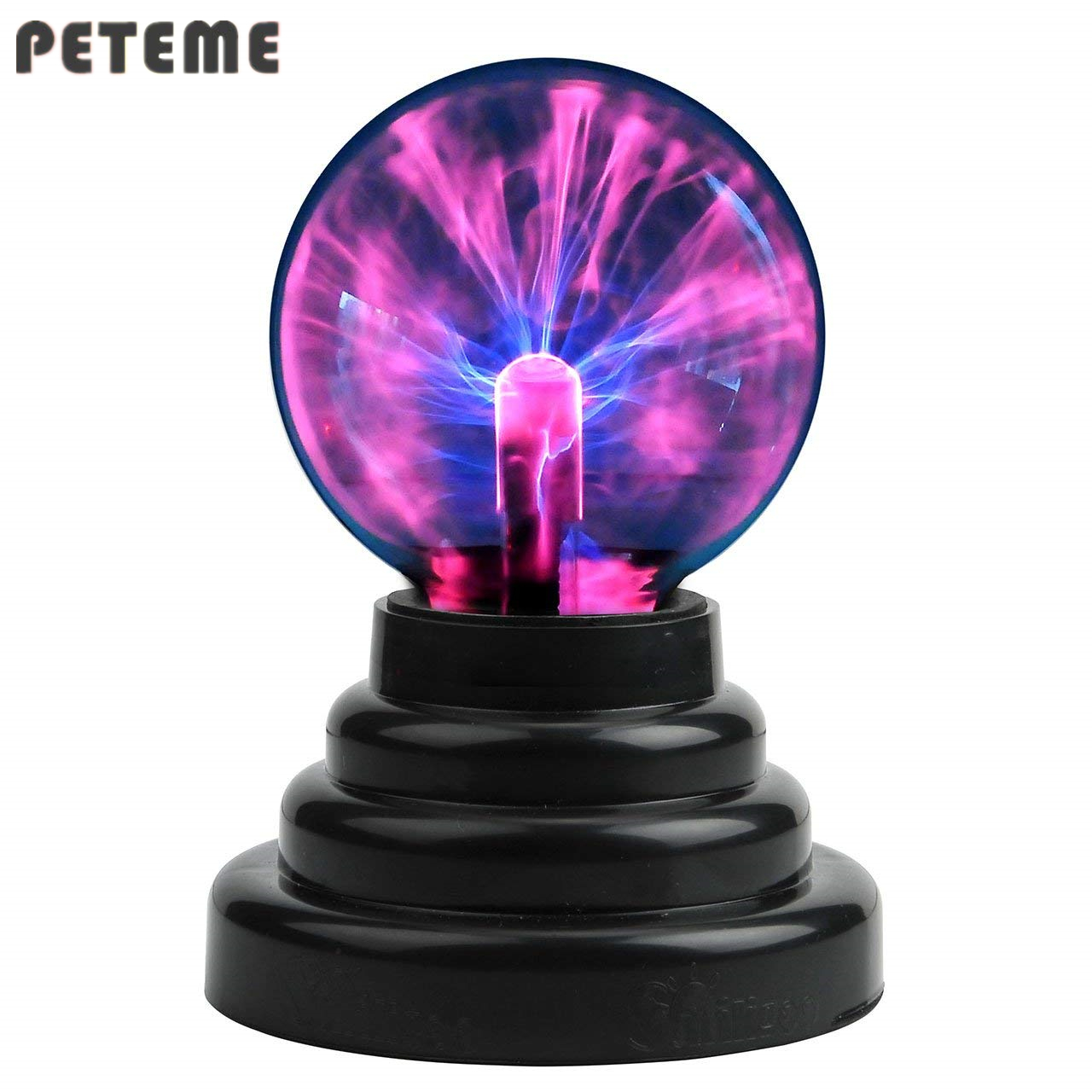 Plasma Ball Magic Moon Lamp USB Electrostatic Sphere Light Bulb Touch Novelty Project Novedades Home Decoration Accessories(China)