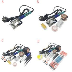 Image 5 - Cxg 936d Eu Plug Digitale Lcd Instelbare Temperatuur Elektrische Soldeerbout 110 V/220 V 60W Keramische Heater 900M Sting Tip