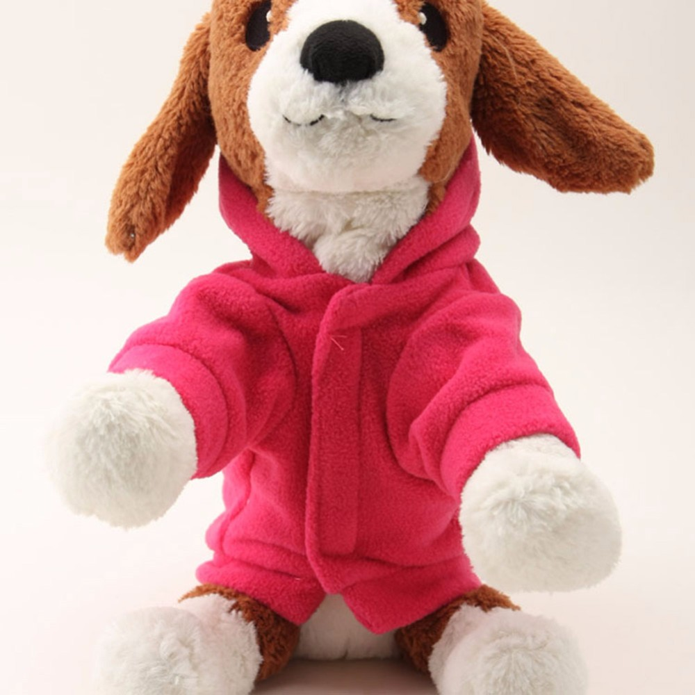 Precioso perro mascota capucha camiseta cálido invierno suéter capa - Productos animales