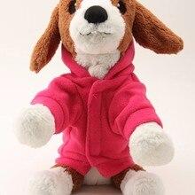 Lovely Pet Dog Hood T-shirt Warmer Winter Sweater Coat Puppy Clothes Jacket Apparel