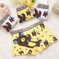 12 pçs/lote Modal material de cueca infantil de tudo para as crianças calças de roupas meninos cueca boxer cueca 3025