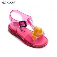 b6f438976e791 Mini Melissa sucette fille sandales 2019 nouvelle fille originale gelée  sandales enfants sandales enfants chaussures de plage an.