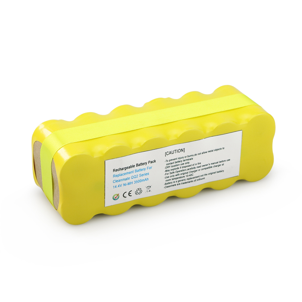 14.4V 3.5Ah NI-MH Battery for INFINUVO for CleanMate 365,QQ1,QQ2,QQ-2 Basic,QQ2 Eco,QQ2 Green,QQ-2 Plus,QQ2 Plus II,QQ-2 L