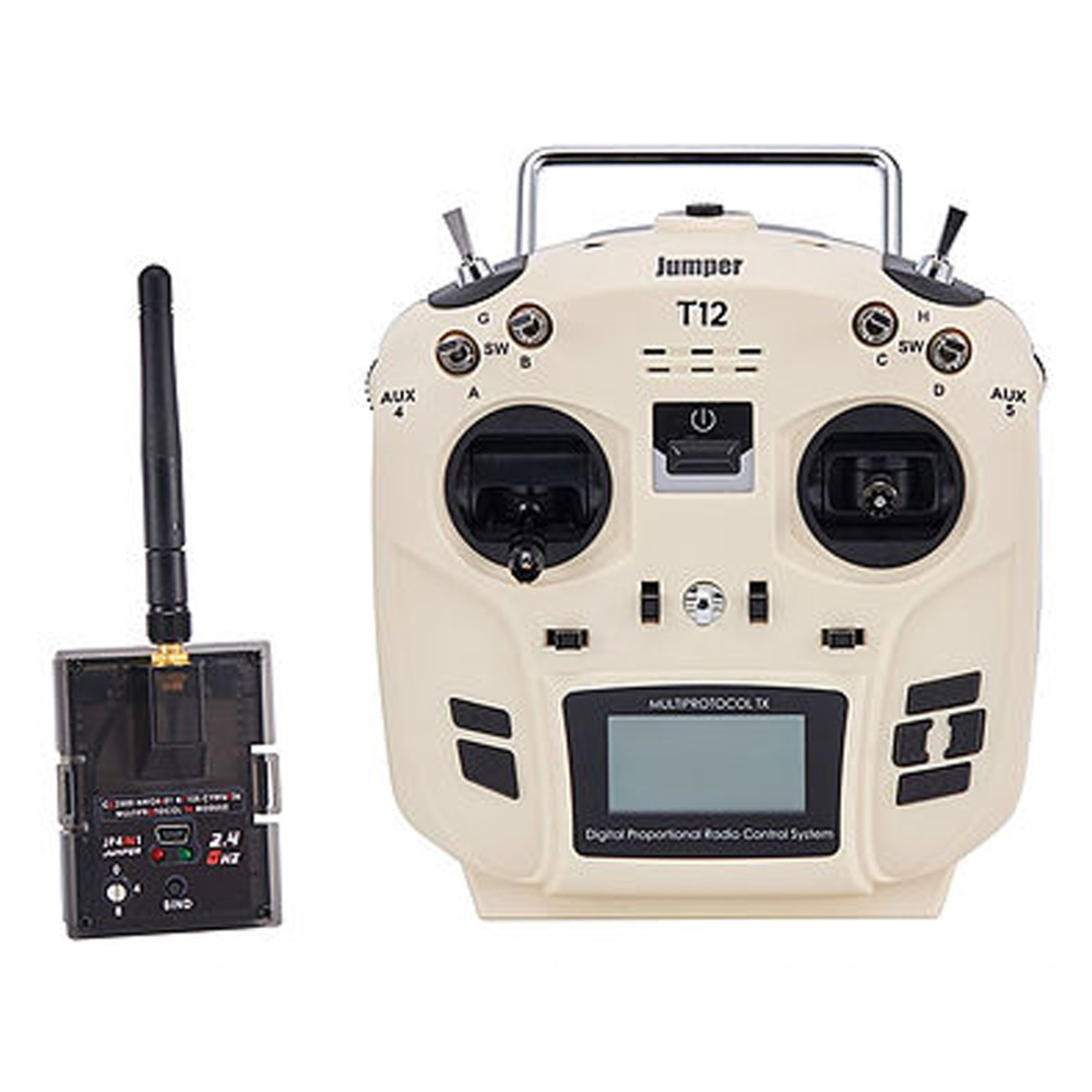 Jumper T12 16ch Radio Transmitter with JP4 in 1 Multi protocol RF Module for RC Drone