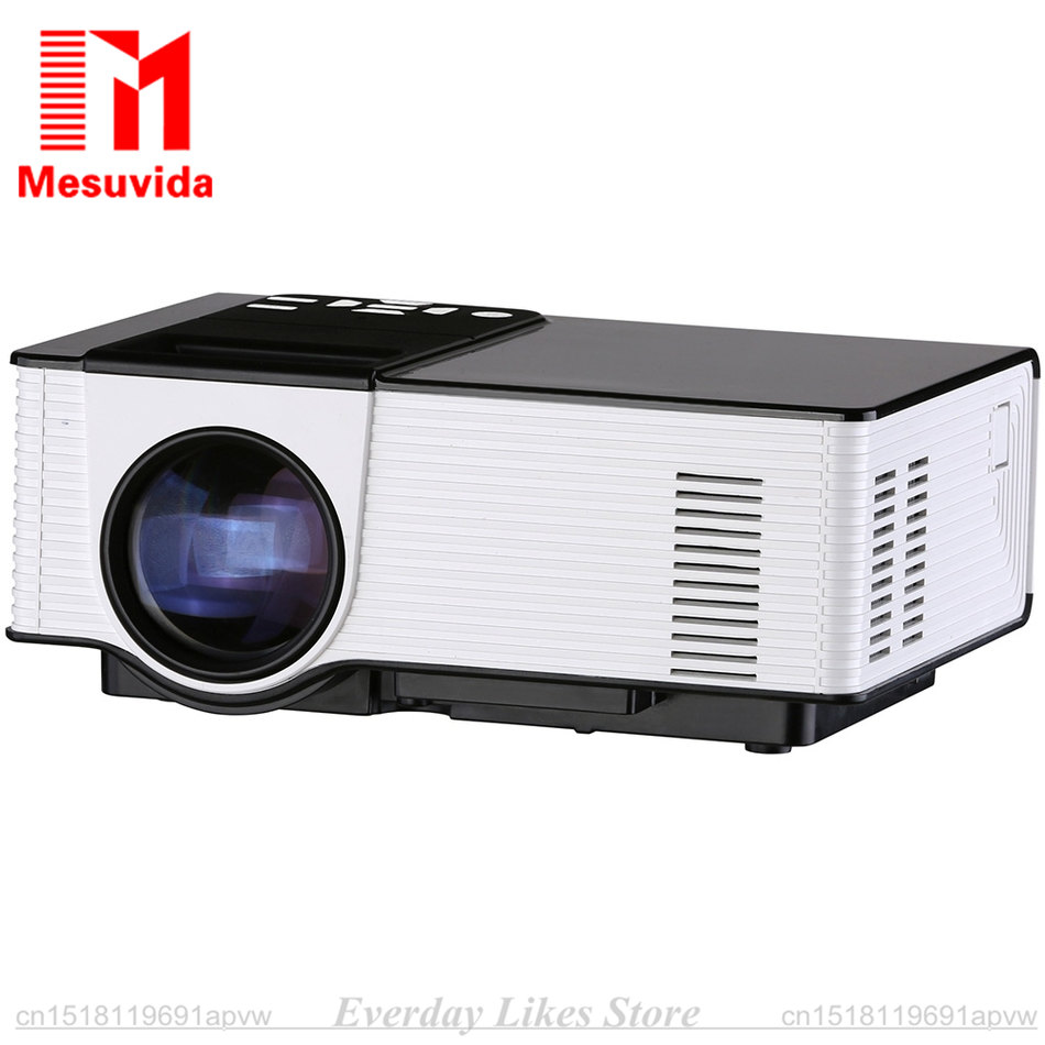 VS314 LED Projector 1500 Lumens Support 1920x1080P Analog TV LED Projector MINI Projector Analog TV Interface